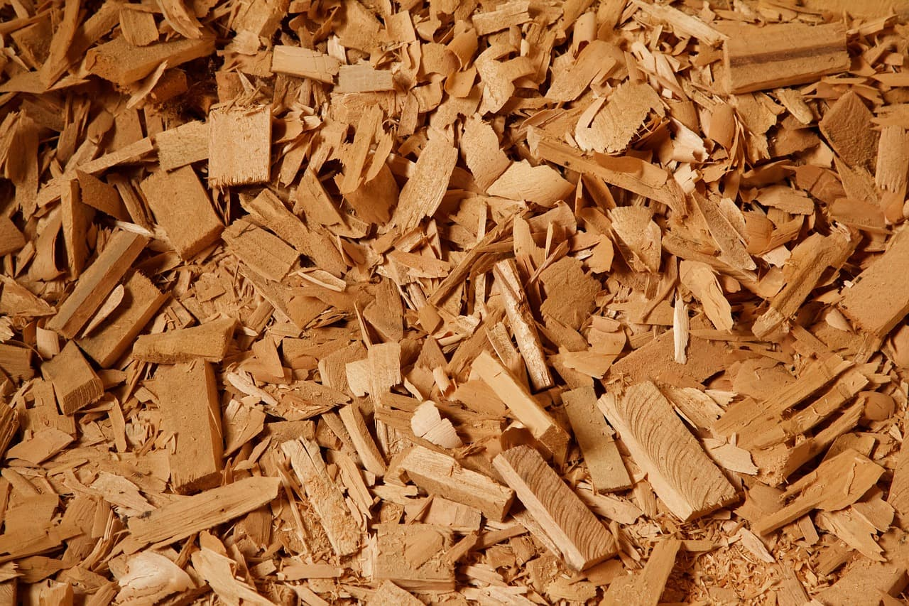 Wood chippings Ackton
